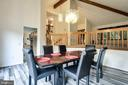 DINING ROOM - 17532 COUNTRY VIEW WAY, MOUNT AIRY