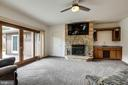 SUNKEN FAMILY ROOM - 17532 COUNTRY VIEW WAY, MOUNT AIRY
