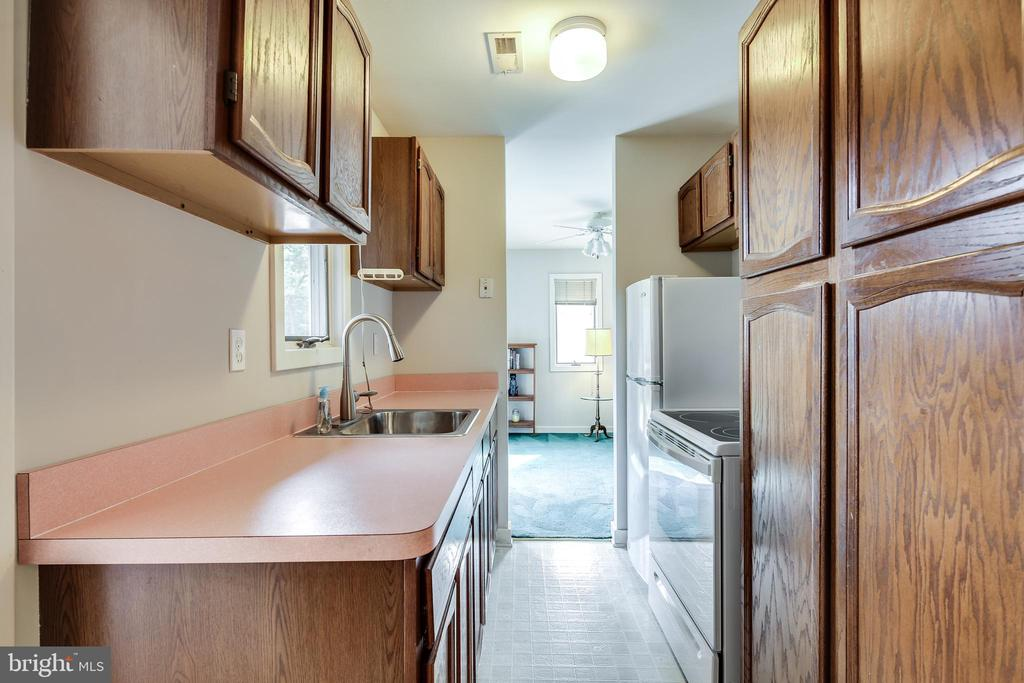 IN-LAW SUITE KITCHEN - 17532 COUNTRY VIEW WAY, MOUNT AIRY