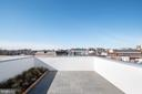 Expansive roof deck with outdoor shower. - 1923 9TH ST NW #PH, WASHINGTON