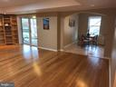 Open Living  in lower level - 812 MORAN DR, ANNAPOLIS