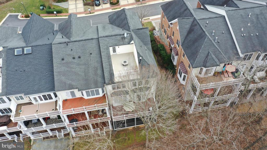 View from above,  roof top deck! - 18215 CYPRESS POINT TER, LEESBURG
