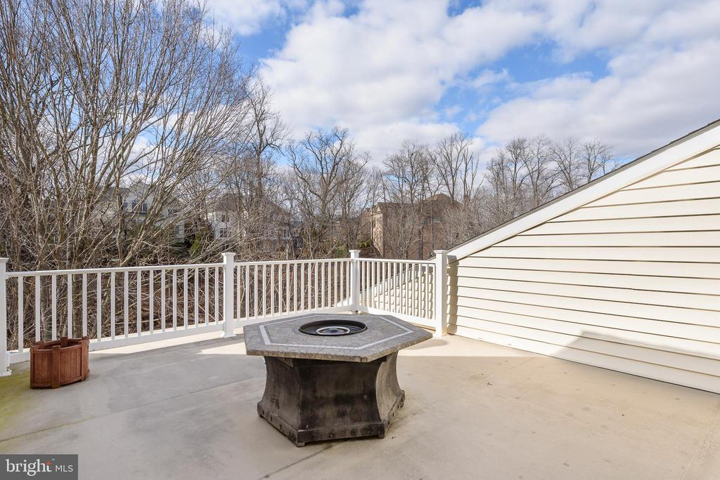 4th level deck - 18215 CYPRESS POINT TER, LEESBURG