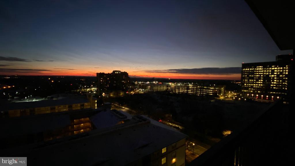 Endless views from balcony - 11710 OLD GEORGETOWN RD #1108, ROCKVILLE
