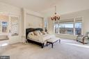 Master Bedroom Suite (Main Level) - 703 POTOMAC KNOLLS DR, MCLEAN