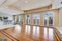 Club / Recreation Level - French Doors to Balcony - 703 POTOMAC KNOLLS DR, MCLEAN