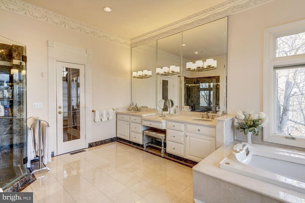 Master Bath - Separate Shower - 703 POTOMAC KNOLLS DR, MCLEAN