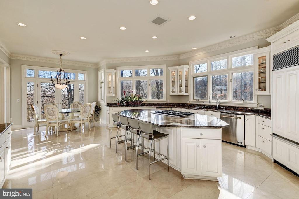 Gourmet Kitchen - Updated in 2019 - 703 POTOMAC KNOLLS DR, MCLEAN