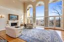 Great Room - Spectacular River Views - 703 POTOMAC KNOLLS DR, MCLEAN