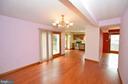 Family Room to Kitchen - 408 BEAUREGARD, CHARLES TOWN