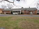 Back of house with circular driveway - 215 BROAD ST, MIDDLETOWN