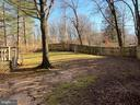 Fully fenced - 6935 COLBURN DR, ANNANDALE