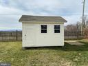 12 x 10 storage shed - 429 AUTUMN CHASE CT, PURCELLVILLE