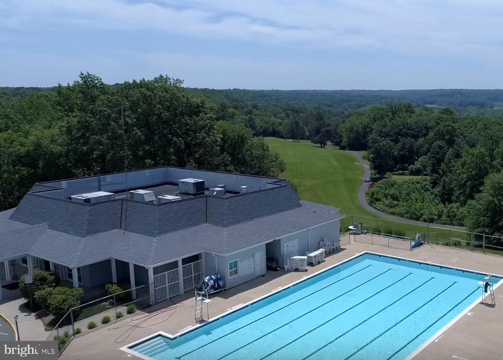 1 of 2 Olympic size pools. Country Club Pool - 2459 HARPOON DR, STAFFORD