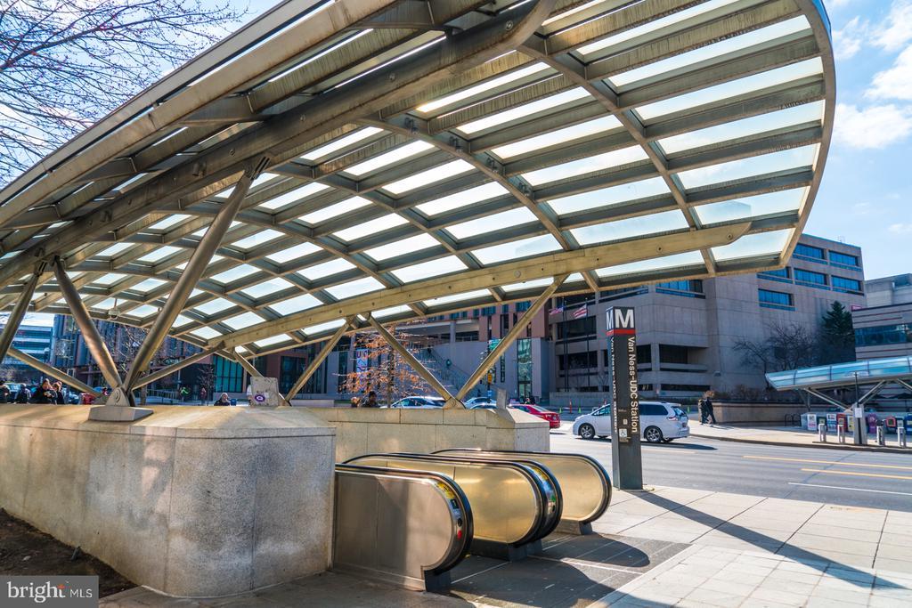 Nan Ness Metro  just a short walk thru the grounds - 2939 VAN NESS ST NW #530, WASHINGTON