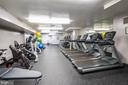 Exercise room for residents - 2939 VAN NESS ST NW #530, WASHINGTON