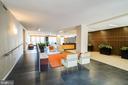 Mid Century lobby and 24/7 concierge desk - 2939 VAN NESS ST NW #530, WASHINGTON