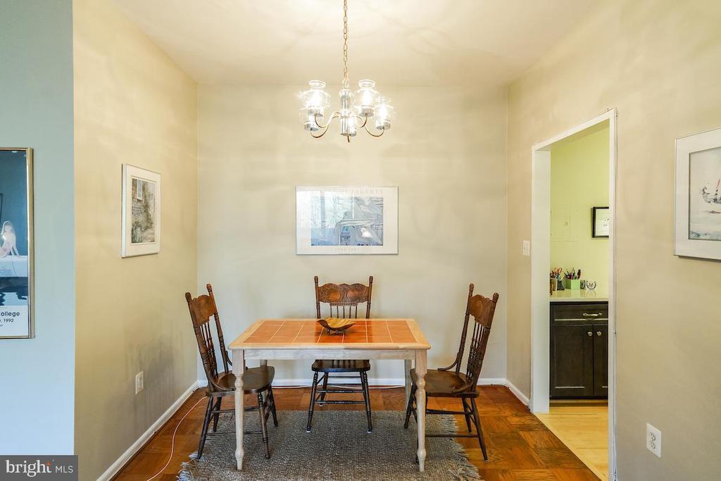 Dinina area and kitchen - 2939 VAN NESS ST NW #530, WASHINGTON
