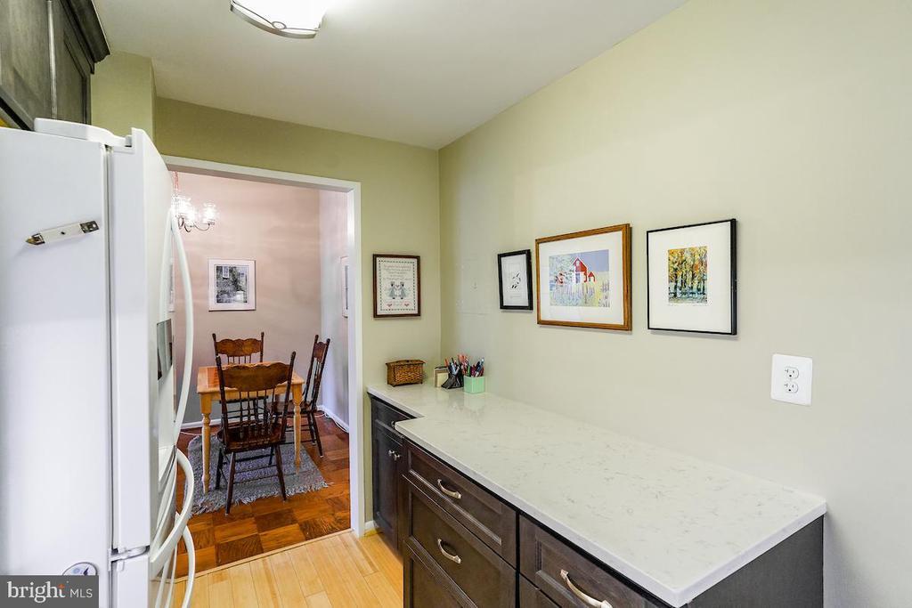 Extra work/storage space in kitchen - 2939 VAN NESS ST NW #530, WASHINGTON