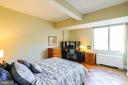 Spacious bedroom with space for desk - 2939 VAN NESS ST NW #530, WASHINGTON
