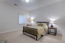 Guest suite on club level with huge walk in closet - 23734 HEATHER MEWS DR, ASHBURN