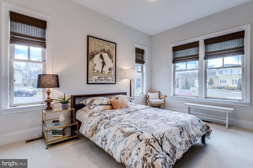 Bedroom #2- spacious with en-suite bath - 23734 HEATHER MEWS DR, ASHBURN