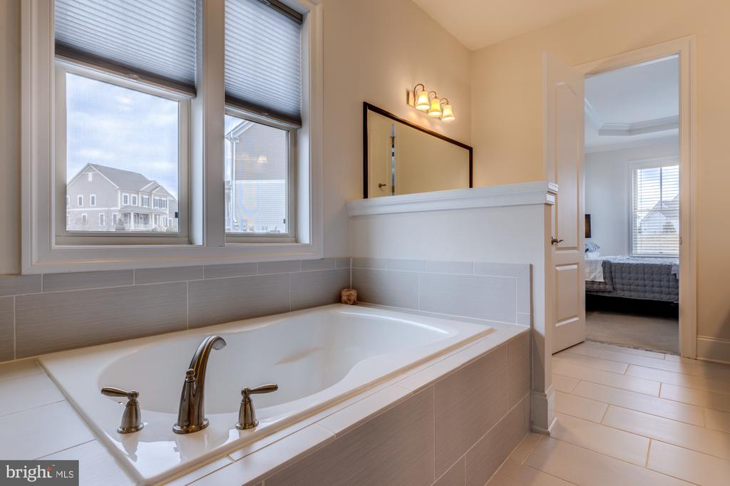 Soaking tub is perfect after a long day - 23734 HEATHER MEWS DR, ASHBURN