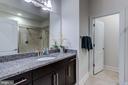 Guest spa like bath on club level - 23734 HEATHER MEWS DR, ASHBURN