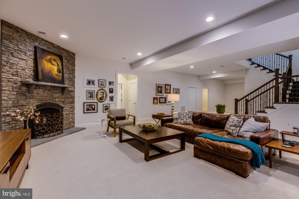 Perfect spot for a movie night with your crew - 23734 HEATHER MEWS DR, ASHBURN