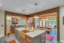 ...this kitchen is current and cutting-edge. - 12060 ROSE HALL DR, CLIFTON