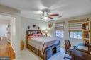 And this is bedroom #3.  Cute! - 12060 ROSE HALL DR, CLIFTON