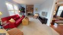 Doors btwn FR & LR provide separation if desired - 6935 COLBURN DR, ANNANDALE