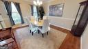Guest-ready dining room - 6935 COLBURN DR, ANNANDALE
