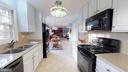 Like new appliances including gas range - 6935 COLBURN DR, ANNANDALE