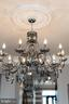 Stately dining room chandelier - 18212 CYPRESS POINT TER, LEESBURG