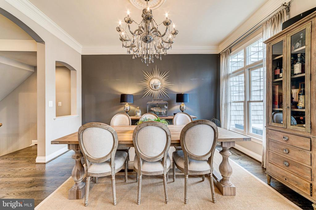 Romantic, elegant dining room - 18212 CYPRESS POINT TER, LEESBURG