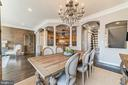 Crown molding, arched doorways and columns - 18212 CYPRESS POINT TER, LEESBURG