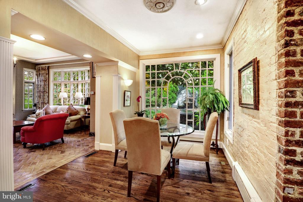 Breakfast Room - 6412 ELMWOOD RD, CHEVY CHASE
