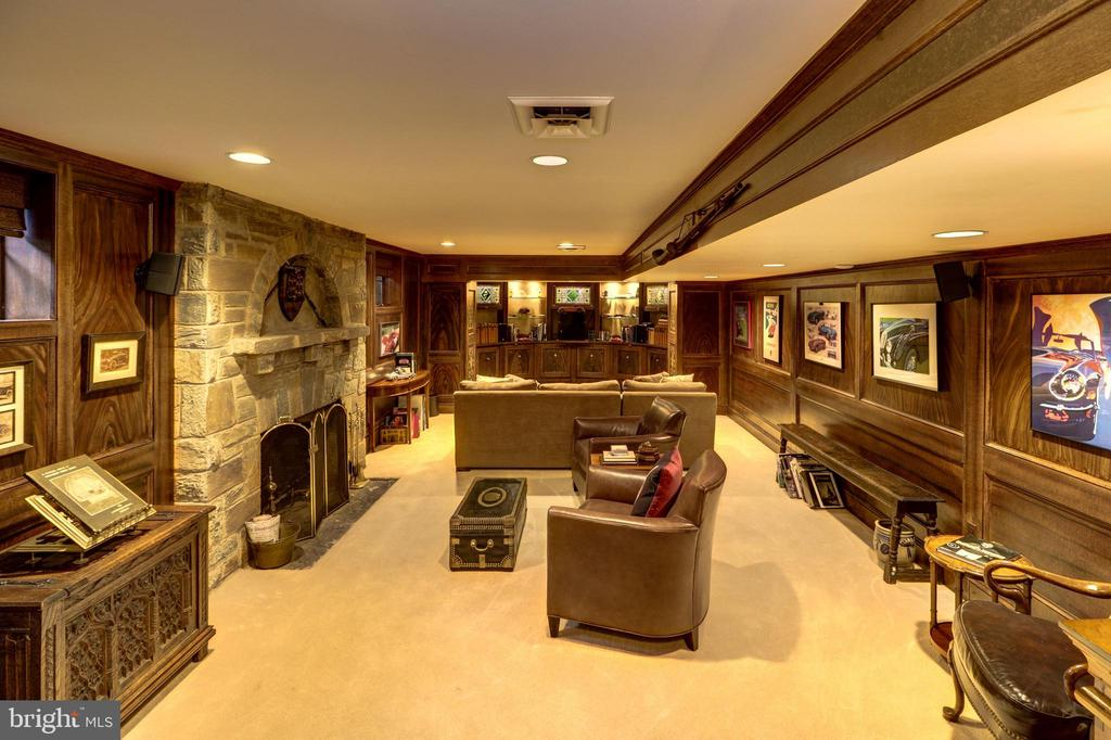 Recreation Room - 6412 ELMWOOD RD, CHEVY CHASE