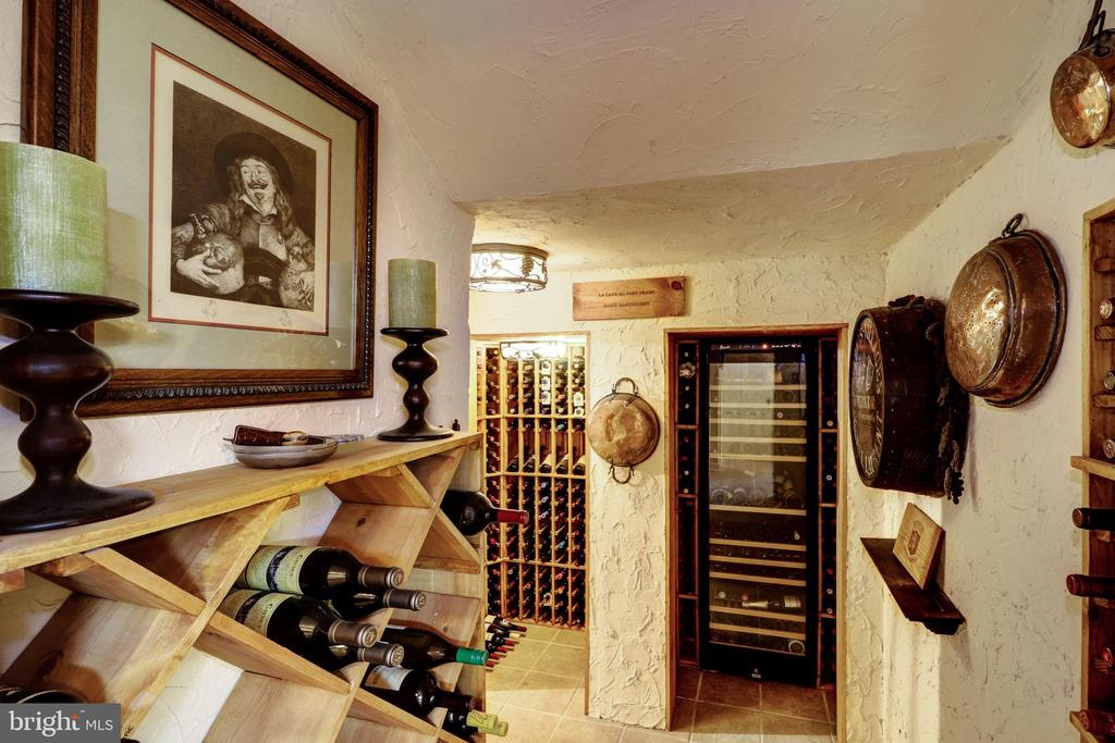 Wine Cellar - 6412 ELMWOOD RD, CHEVY CHASE
