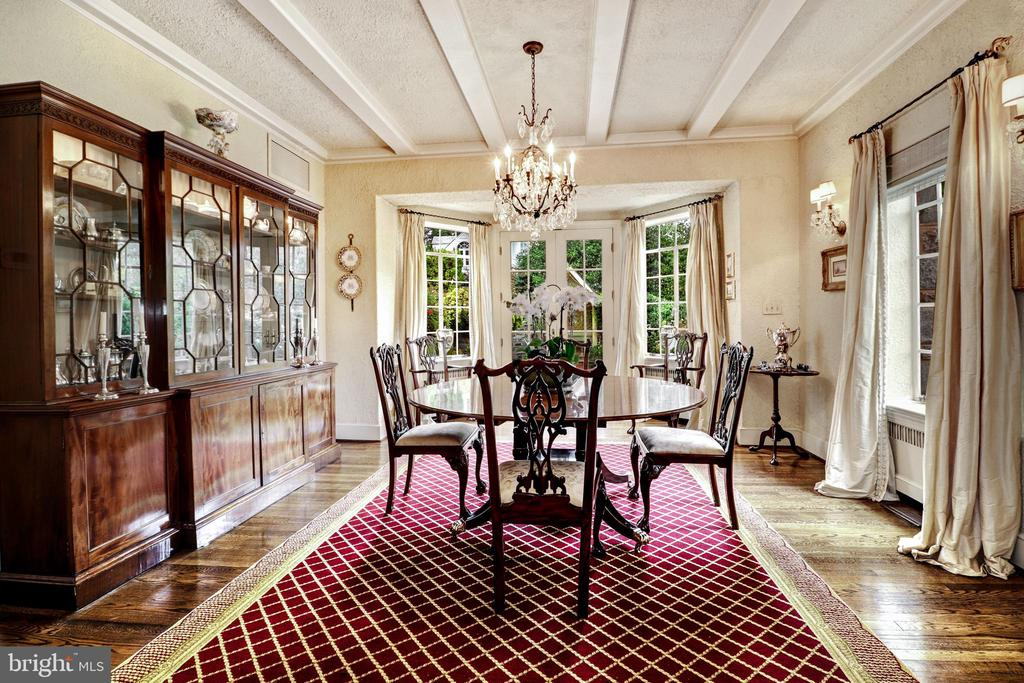 Dining Room - 6412 ELMWOOD RD, CHEVY CHASE