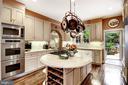 Kitchen - 6412 ELMWOOD RD, CHEVY CHASE
