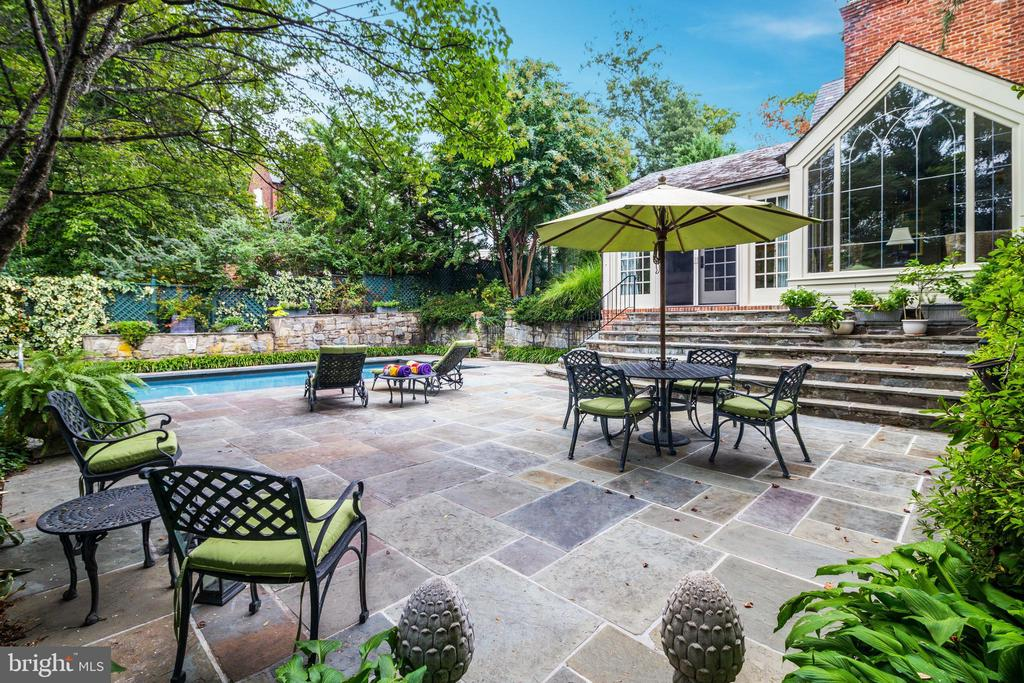 Terrace - 6412 ELMWOOD RD, CHEVY CHASE
