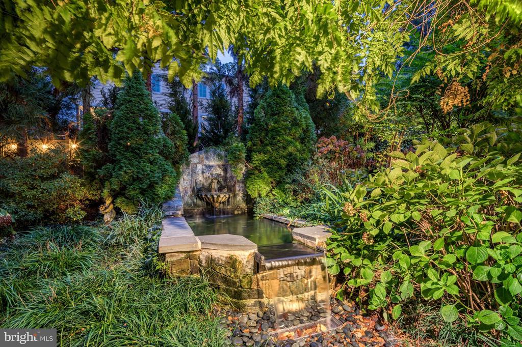 Grounds/Water Feature - 6412 ELMWOOD RD, CHEVY CHASE