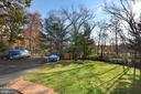 Fenced Back Yard - 45550 LAKESIDE DR, STERLING