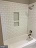 Modern Tile Surround in Dual Entry Bath - 812 WEEDON ST, FREDERICKSBURG