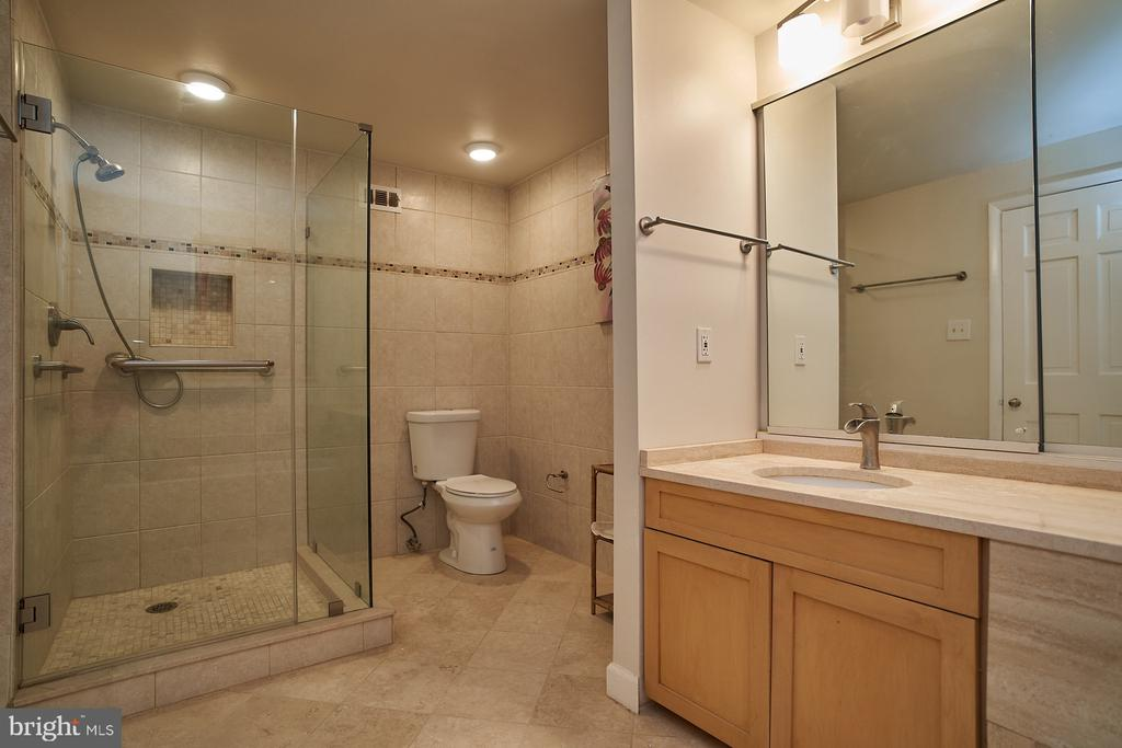 Renovated Master Bath with Walk-In Shower - 2700 VIRGINIA AVE NW #504, WASHINGTON