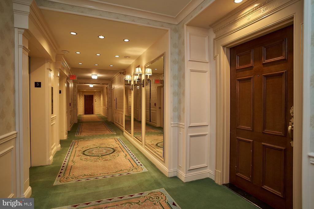 Elegant Hallways - 2700 VIRGINIA AVE NW #504, WASHINGTON