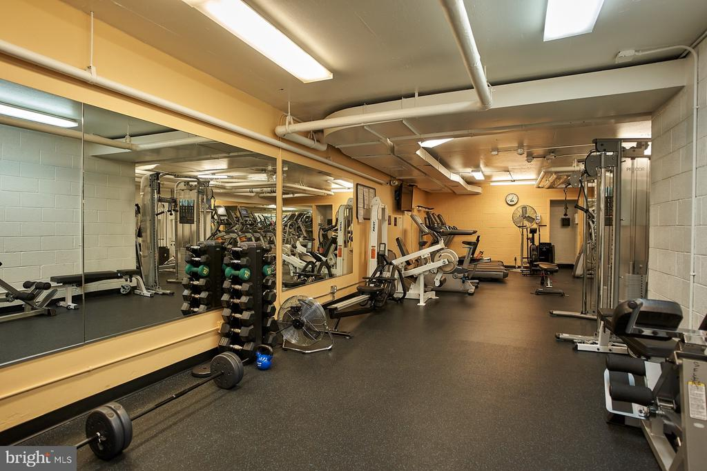 Facilities include gym/excercise room - 2700 VIRGINIA AVE NW #504, WASHINGTON