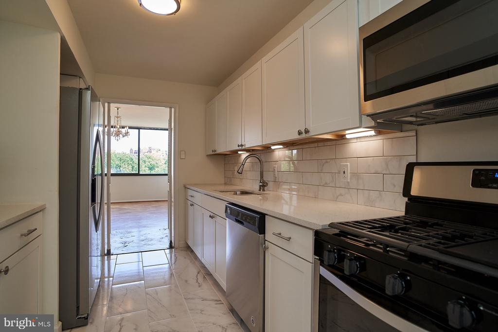 Completely renovated Kitchen with SS Appliances - 2700 VIRGINIA AVE NW #504, WASHINGTON